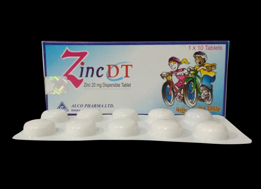 Zinc Dt Alco Pharma Ltd Bangladesh